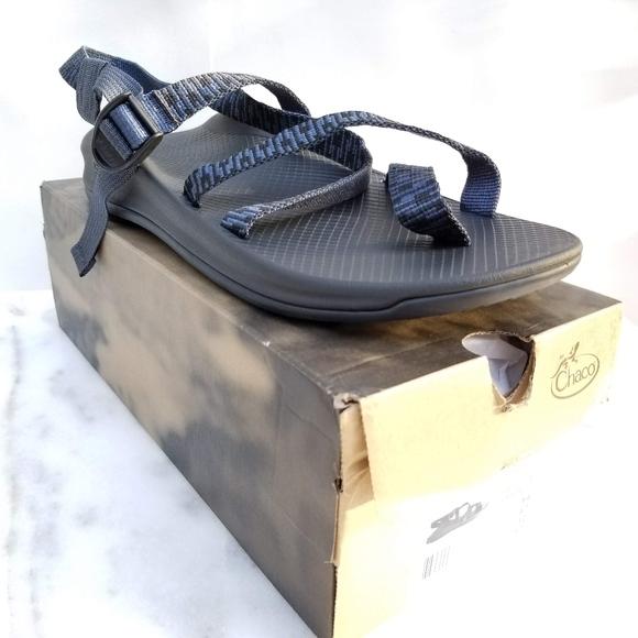 1eb89a5e3ced NEW Chaco Men s Z Strap Eddy 2 Sandals Blue 14